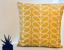 Orla Kiely Hand Made Cushion Cover. Dandelion  Linear Stem 16 x16 inch.