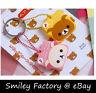 New Cute 1 set Cute San-x Rilakkuma Relax Bear Key Cover Christmas Gift Present