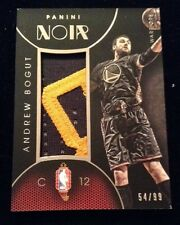2014-15 Panini Noir China Jerseys Andrew Bogut PATCH 54/99 ED