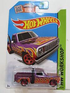 Hot Wheels 2015 Hw Workshop - Calor Flota - '78 Dodge Li'L Rojo Express Camión