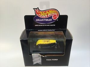 Hot Wheels Collectibles 1934 Ford