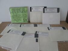 Vintage 5.25 inch Floppy Disks Business Wedding Planner Billing Paper Planes Ido