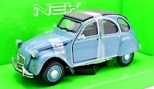 MODELO AUTO CITROEN 2CV 2 CV ESCALA 1:24 COCHE modelo MINIATURAS DIECAST Citroën