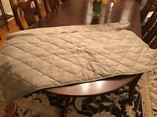 NEW ORVIS Grip Tight Furniture Protector Medium Love Seat ZIP Off Bolster Shale