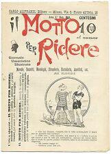 SATIRA-UMORISMO_Il Motto per Ridere_Ed. Aliprandi_Anno V  N.51, 1893*_FORNARI