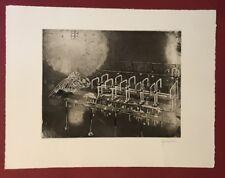 Herbert Grunwaldt, Böse Überraschung (…), Radierung, 1966, handsigniert