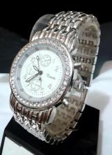 Silver Crystal Rhinestone Xanadu Watch Bracelet link Band Watch Dress Simple NEW