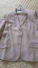 LUJO Extraordinario elegante traje BURBERRY ORIGINAL marfil L XL  Impecable