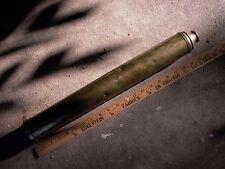 "36 x 2 1/2"" Osborne 1812 Brass Naval Spyglass One pull stamped Day/Night London"