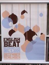 English Beat   61cm X 46cm   Ltd numbered PHF  Poster