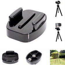 Black Quick Release Tripod Mount Adapter for GoPro HD Hero 4 3+ 3 2 1 Camera NEW