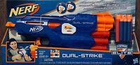 NEW - Nerf N-Strike Elite Dual-Strike Blaster Kids Dart Gun Toy