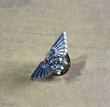 Warhammer 40K badge Games Workshop 25th Anniversary Eagle pewter pin Rare
