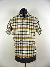 * Patagonia Men's El Ray Shirt Short Sleeve Shirt Checked Size S