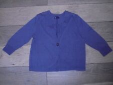 Gap Maternity purple cropped 3/4 sleeve light weight shrug sweater cardigan XS