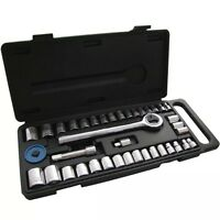 "Am-Tech 40-PIECES SOCKET SET 1/4"" &3/8"" DRIVE DRIVER TOOL KIT 3 Years Guarantee"