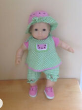 American Girl Doll Bitty Baby Clothes Watermelon Sun Suite