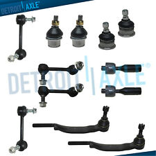 12pc Front Tie Rod Suspension Kit 2004 2005 2006 2007 Chevrolet Trailblazer