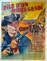 Plakat Kino Western Garn Eines Off La Grundgesetz - 120 X 160 CM