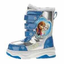 BRAND NEW SZ 6 Frozen Elsa Anna Toddler Fur Lined Winter Snow Boots DISNEY