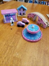 Kid Kraft Pink Ice Cream Shop Wooden Train Pcs Lot of 7 Replacement