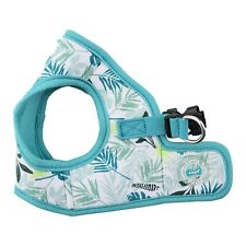 Puppia - Dog Puppy Harness Soft Vest - Rowan - Aqua Blue - S, M, L