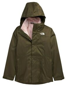 The North Face Girls Osolita 2.0 TriClimate 3 in 1 Jacket Green Pink - XL / 18
