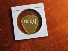 ORGY green guitar pick
