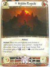Legend of the Five Rings LCG - 1x #001 Kyuden Bayushi - Underhand of the Emperor