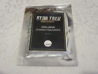 Star Trek Discovery Exclusive Character Cards Pack A Fan Expo 2017 SDCC NYCC
