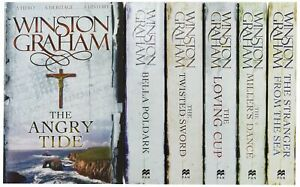 Winston Graham Poldark Series 6 Books Collection Set (Poldark books 7-12) (The A