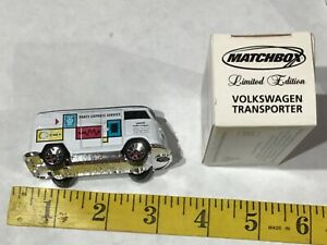 Vintage MATCHBOX Limited Edition VW Volkswagen Transporter BUS New Nos Toy Car