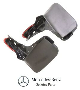 For Mercedes Benz W166 ML Class 12-UP Front Mud Flaps w/ Running Boards Genuine
