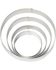Round Circle Nesting Metal Cookie Cutters 4 pc Set from Wilton #0914