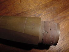VINTAGE CLARINET MOUTHPIECE  HARD RUBBER X5 1930S 40S