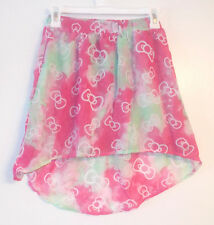 Hello Kitty Hello Style Girls High Low Skirt Size 6-6X Small NWT