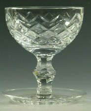 WATERFORD Crystal - POWERSCOURT Cut - Footed Dessert Glass / Glasses - 4 3/4""