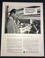 Life Magazine Ad BELL TELEPHONE SYSTEM 1961 Ad
