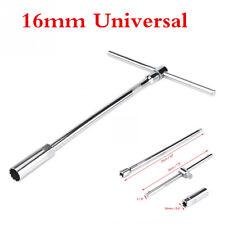 1 Set Chromium Vanadium Steel T-Handle Spark Plug Wrench Remover Installer Tool
