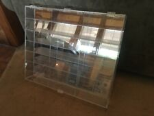 NASCAR 1:24 Diecast Display Case (mirrored back) Holds 21 cars