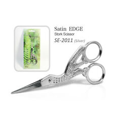 "Satin Edge SE-2011 Stork Scissors Nail Shear 3-1/2"" - Silver"