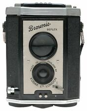 Kodak London Brownie Reflex TLR 127 Film Bakelite Box Camera