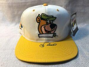 Yogi Berra Signed Autographed Yogi Bear Toons American Needle Cap Hat JSA