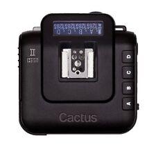 Cactus Wireless Flash Transceiver V6 II V6II TTL 1/8000s Funksender / Empfänger