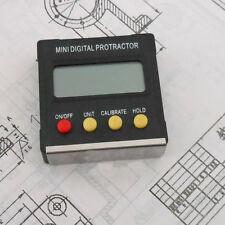 Präzise digitale Wasserwaage, Winkelmesser, bel.Display, NEU
