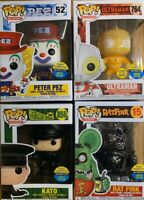 2019 SDCC Funko POP Peter Pez, GITD Rat Fink, Kato, Ultraman (TOY TOKYO BUNDLE)