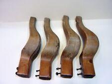 XXL Füße Holzbeine Möbelbeine Bettfüße Möbelfüße Tischbeine Holzfüße 46 cm