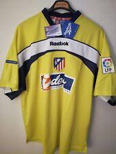 REEBOK vtg Atletico de Madrid 2000-2001 new soccer goalkeeper vintage camiseta