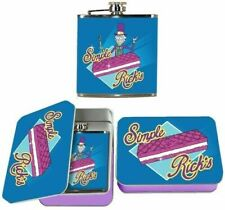 Rick & Morty Simple Rick Flask W/ Tin Case