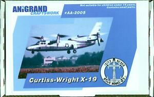 Anigrand Models 1/72 CURTISS WRIGHT X-19 VTOL Airliner